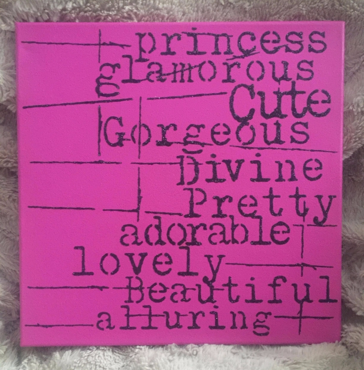 Pink Princess Canvas